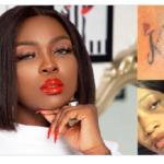 """Kindly reach out to me"" – Ka3na surrenders, reaches out to fan that tattooed her name"
